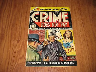 Crime Does Not Pay Comic Book Issue # 91  Golden Age Crime