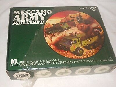 Vintage Toy - Meccano - Army Multikit Construction Set - Ovp - Ungeöffnet