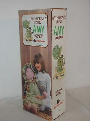 Vintage Toy 2 Stück Holly Hobbie Rage Doll Amy 32`` + Heather Box Knickerbocker