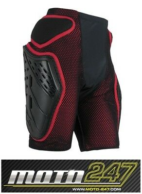 Alpinestars Bionic Free Ride Adult Motocross Mx Padded Shorts -  Black / Red