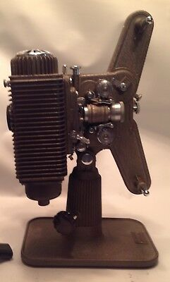 Vintage Revere Model P85 8mm Movie Projector with Case
