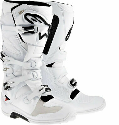 Alpinestars Tech 7 Boots - White All Sizes