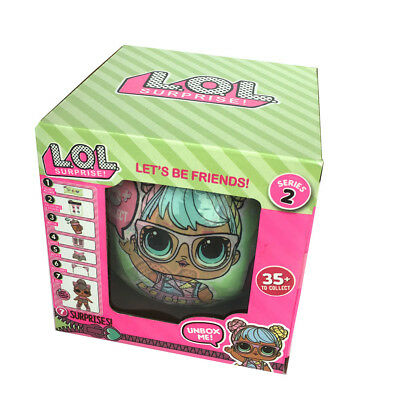 SERIES 2 Wave 2  LOL Surprise DOLL L.O.L Big Sisters 9.5cm 1PC BALL Xmas Gifts