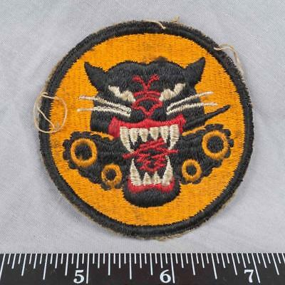 Vintage WWII Korean War Era US Army 4 Wheel Tank Destroyer Patch ajd