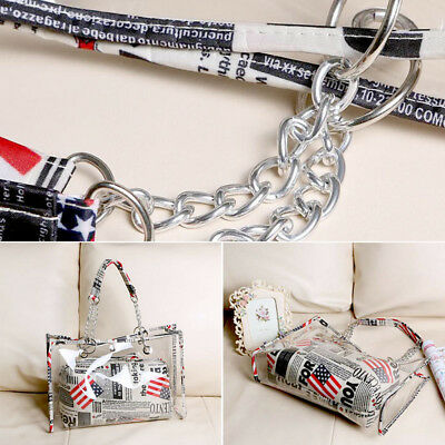 Women Transparent Clear Shoulder Bags Jelly Candy Beach Handbag Purse Stripe Bag