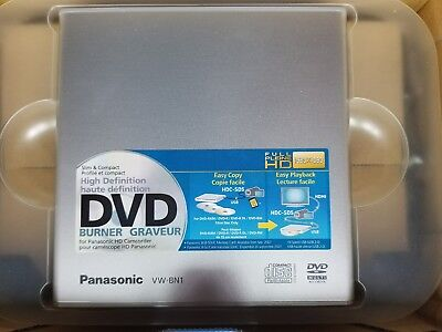 Panasonic VW-BN1 Portable Direct to Camcorder and PC DVD Burner