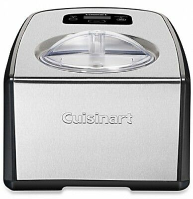Cuisinart Ice Cream Gelato Maker homemade home frozen yogurt compressor machine