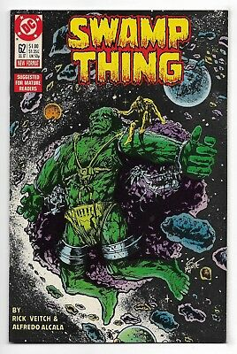 Swamp Thing 1987 #62 Very Fine