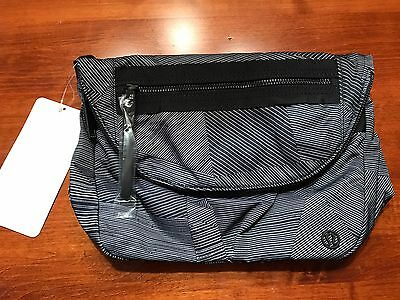 Lululemon NWT Festival Bag II Etch Maxi Ice Grey Black Sold Out!