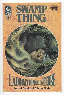 Swamp Thing 1988 #76 Very Fine