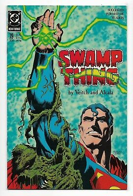Swamp Thing 1988 #79 Very Fine