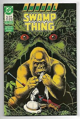 Swamp Thing 1987 Annual #3 Very Fine