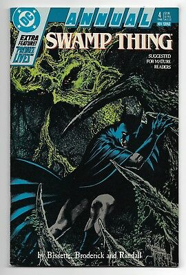 Swamp Thing 1988 Annual #4 Very Fine