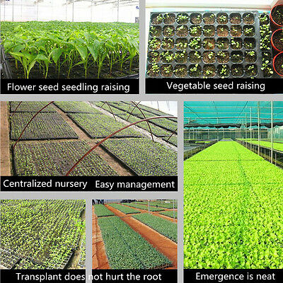 1/5/10PCS200 Cell Seedling Starter Trays For Seed Germination Plant Propagation#