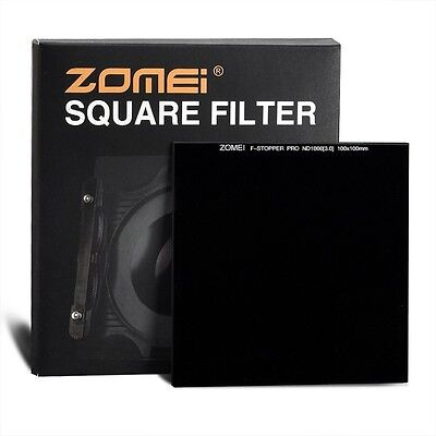 ZOMEI 4X4 square filter ND64 ND1000 Neutral Density Glass Filter Light Stop6 10