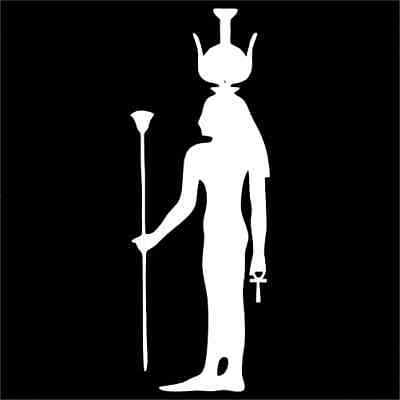 Nephthys Ancient Egyptian God Vinyl Decal / Sticker 2(TWO) Pack