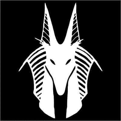 Anubis (Anpu) Ancient Egyptian God Vinyl Decal / Sticker 2(TWO) Pack