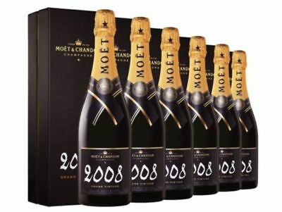 Moet & Chandon Grand Vintage 2008 Gift Boxed x 6 750ml