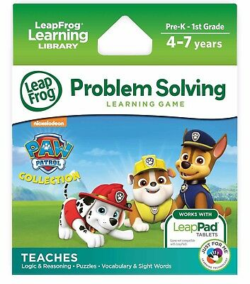 LeapFrog Learning Game Nickelodeon Paw Patrol Game