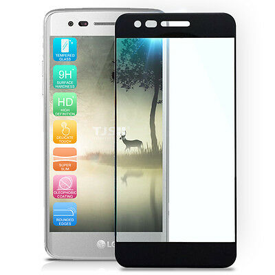 For LG Stylo 3 Plus/Stylo 3 Full Coverage Tempered Glass Screen Protector 9H+ sm