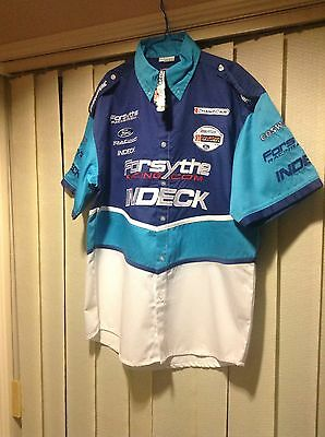 Forsythe Indeck Ford V8 Racing Shirt. New With Tag