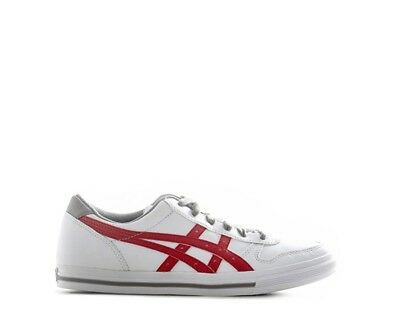 Scarpe ONITSUKA TIGER Bambini BIANCO/ROSSO Pelle naturale,Tessuto C4D1Y-0123RS