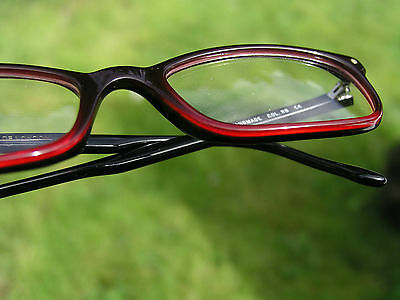 Cutler and Gross 0488 glasses spectacles frames graduated red & black