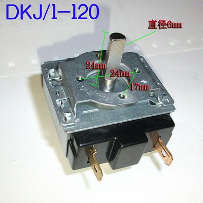 DKJ/1~120 Minutes 15A Delay Timer Switch For Electronic Microwave Oven Cooker