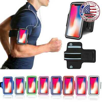 For Apple iPhone X Sports Exercise Gym Running Joging Armband Case Cover Holder