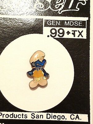 "Smurfs Collectible Lapel Pin - ""Smurf with Apron"""