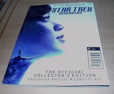 Star Trek Discovery Official magazine Collector's Edition 2017 Exclusive photos&
