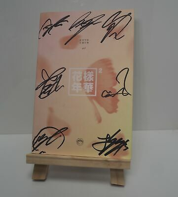 BTS Signed OFFICIAL in the mood for LOVE PT2 7 members signature album KPOP