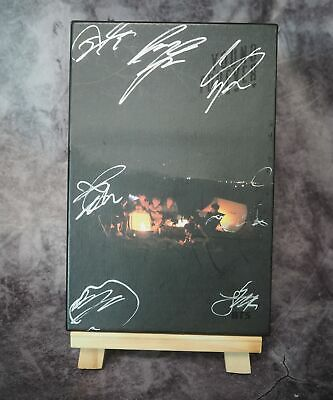 BTS Signed OFFICIAL LOVE Young Forever 7 members signature album KPOP