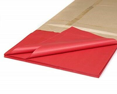 "50 x Red Tissue Paper / Gift Wrap / Wrapping Paper Sheets (20"" x 30"")"