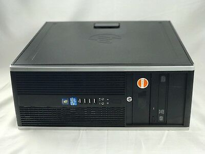 HP Elite 8300 Convertible MicroTower i5-3570 3.4GHz 4GB 1TB HDD, DVDRW, WIN 7