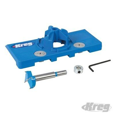 Kreg Concealed Hinge Jig Durable Carbide Tipped Bit Easy To Use 377224
