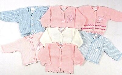 Baby Babies Premature Tiny Knitted Cardigan Button Up Prince Boat Prem 3 5 8 lbs