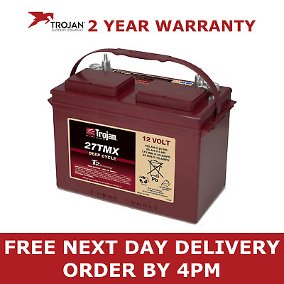 12v 105AH Trojan Ultra Deep Cycle Leisure Battery