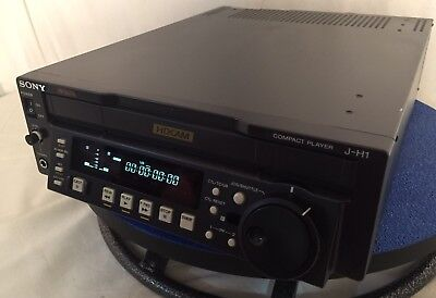 Pre-Owned SONY J-H1 HDCAM PLAYER JH1 Very Clean Lightly Used Ships FAST