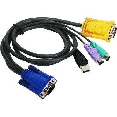 NEW G2L5302UP PS/2-USB KVM Cable 6ft PS 2 USB 6 IOGear