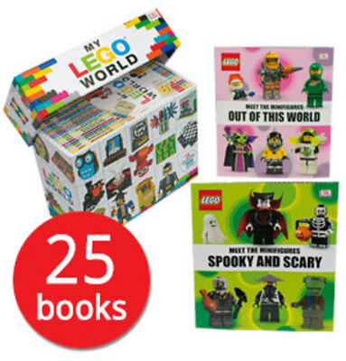 My LEGO World - 25 Books Boxed Set Collection