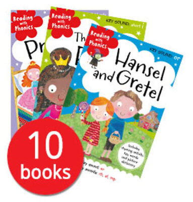 Reading With Phonics: Key Sounds Collection - 10 Books
