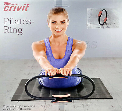 Pilates Ring Yoga Gymnastik Fitness Widerstands Ring Circle 38cm Durchmesser NEU