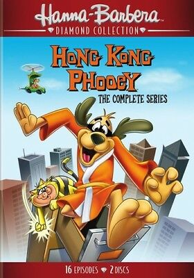 Hanna Barbera Dh645637D Hong Kong Phooey-Complete Series (Dvd/60Th Anniv/new ...