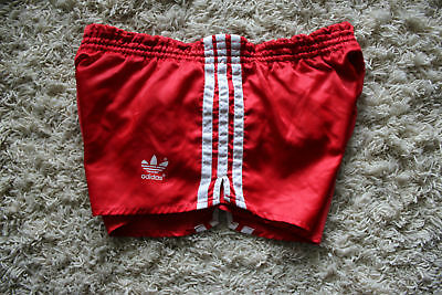 ADIDAS _   VINTAGE SPORTHOSE  1980s' size D4 (S) made in WEST GERMANY ! (S17)