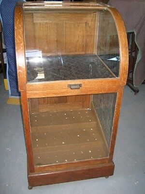 Oak Cane or Umbrella Display Case