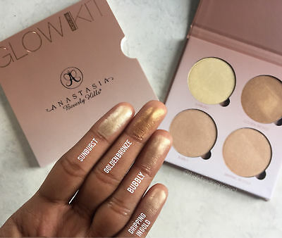 New Anastasia Beverly Hills Glow Kit That Glow Highlighter Palette Uk Stock