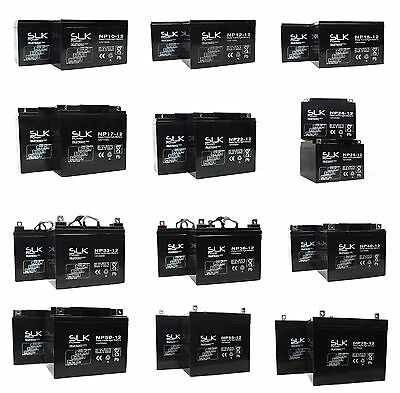 2 x 12v 12ah 22ah 33 36 40 50 75ah MOBILITY SCOOTER AGM/GEL MOBILITY BATTERY