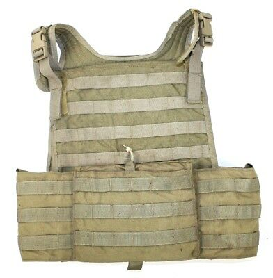 Eagle Allied Industries SFLCS Tan Buckle MBSS Plate Carrier Vest SEAL DGLCS LBT