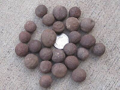 Lot Of 50 Volcanic Moqui Marbles